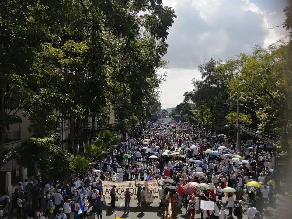 Marchas en San Salvador
