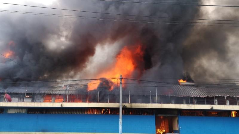 Grave Incendio en San Miguelito